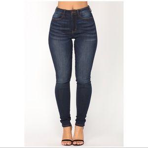 Back & Forth Skinny Jeans by Fashion Nova *Sz 7*